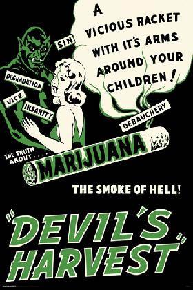 Marijuana, The Devil's Harvest poster