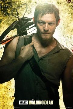 Walking Dead- Daryl poster