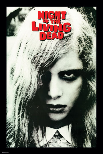 Night Of The Living Dead- Face poster (B2)