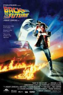 Back To The Future- Movie poster