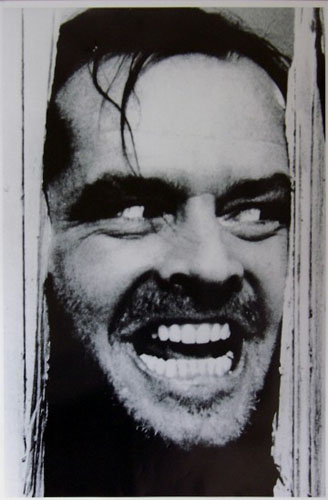 Shining- Here's Johnny poster