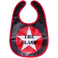 Clash Star vinyl bib by Sourpuss