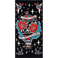 Time For An Adventure Beach Towel by Sourpuss