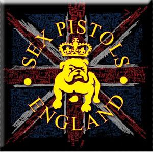 Sex Pistols- Bulldog magnet