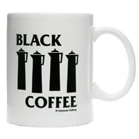 Black Coffee Mug from Sourpuss
