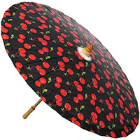 Cherries Parasol from Sourpuss - SALE