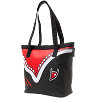 Shark Vinyl Tote Bag by Sourpuss - SALE