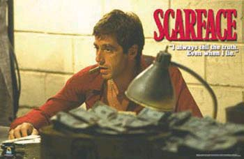 Scarface- Truth poster