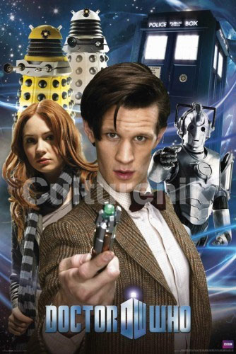 Doctor Who- Collage poster