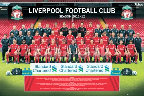 Liverpool- 2011/2012 Team Photo poster (Sale price!)