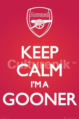 Arsenal- Keep Calm I'm A Gooner poster (Sale price!)