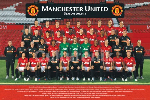 Manchester United- 2012/2013 Team Photo poster (Sale price!)