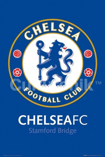 Chelsea Football Club- Crest poster (Sale price!)