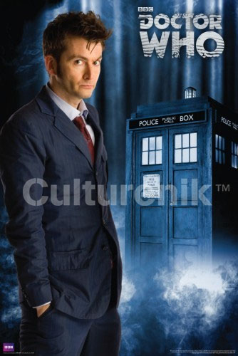 Doctor Who- David Tennant poster