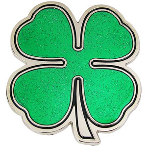 4 Leaf Clover Belt Buckle (bb4)