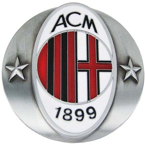 AC Milan- 1899 belt buckle (bb347)