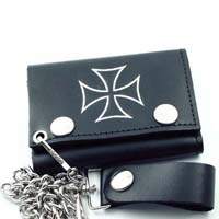 Iron Cross wallet (comes with chain)