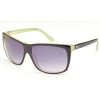 Heartbreaker Girls Sunglasses by Tres Noir- BLACK & GREEN (Sale price!)