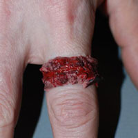 Chopped Flesh Vinyl Ring by VonErickson's Laboratory