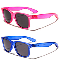 Sunglasses- TRANSLUCENT FRAME (Various Colors!)