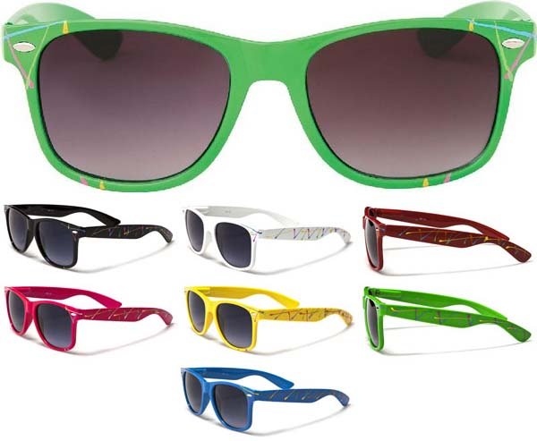 Sunglasses- SPLATTER (Various Colors!)