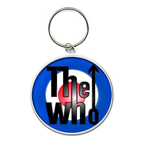 Who- Logo metal keychain