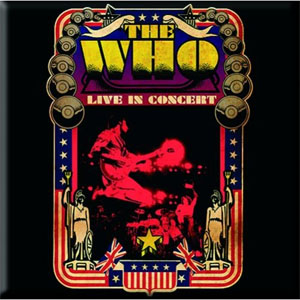 Who- Live In Concert magnet
