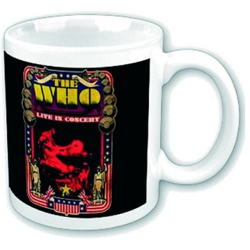 Who- Live In Concert coffee mug