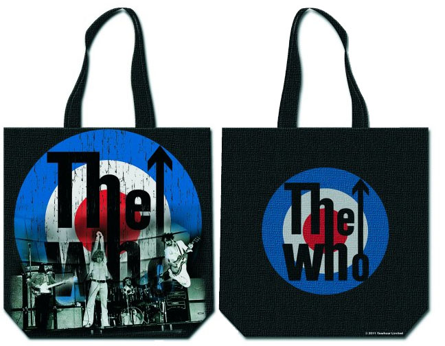 Who- Mod Logo zip top tote bag
