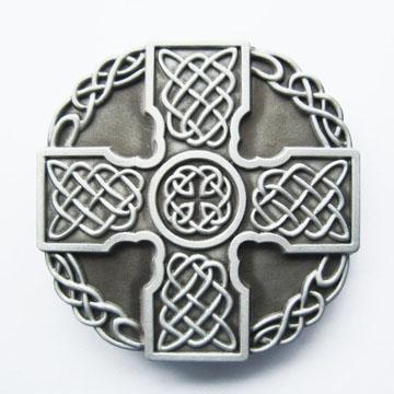 Celtic Cross belt buckle (bb208)