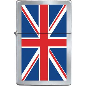 Union Jack re-fillable lighter