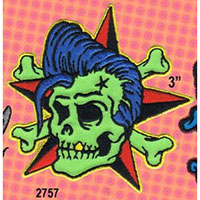 Rockin Billy embroidered patch (Reed art) (ep118)