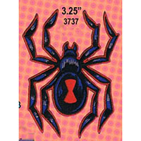 Black Widow embroidered patch (Reed art) (ep117)