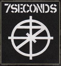 7 Seconds- Logo & Symbol cloth patch (cp574) (Sale price!)