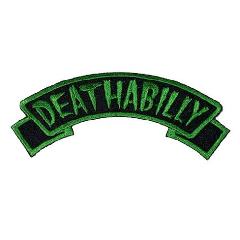 Deathabilly Embroidered Patch by Kreepsville 666 (ep356) - SALE