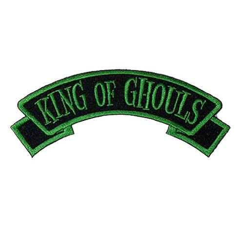 King of Ghouls Embroidered Patch by Kreepsville 666 (ep361)