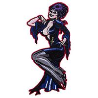 Elvira Comic Art Patch by Kreepsville 666 (ep381)
