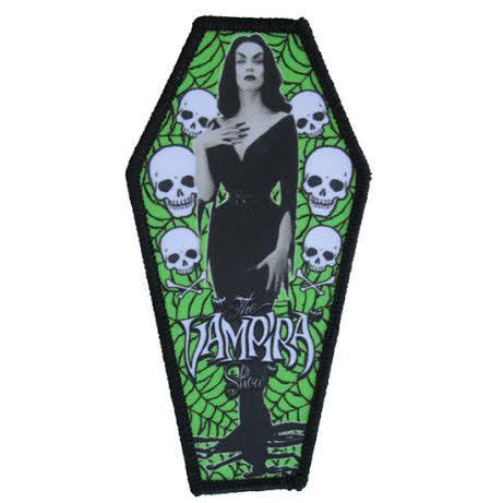 Vampira Coffin Patch by Kreepsville 666 (ep375)
