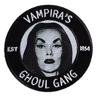 Vampira Ghoul Gang Patch by Kreepsville 666 (ep374)