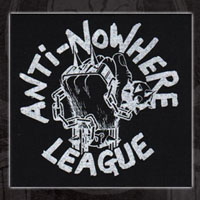 Anti Nowhere League- Spiked Fist cloth patch (cp551)