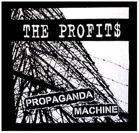 Profits- Propaganda Machine back patch (bp327)