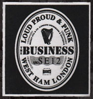 Business- Guinness cloth patch (cp564)