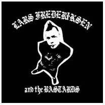 Lars Frederiksen & The Bastards- Album Cover back patch (bp403)