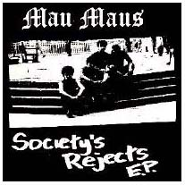 Mau Maus- Societys Rejects back patch (bp430)