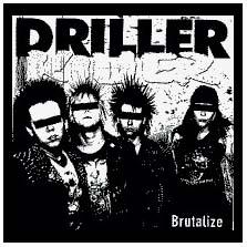 Driller Killer- Brutalize back patch (bp432)