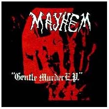 Mayhem- Gentle Murder back patch (bp652)