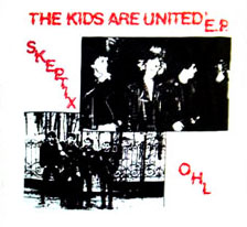 Skeptix- The Kids Are United back patch (bp664)