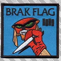 Brak Flag Embroidered Patch by Thrillhaus (ep457)