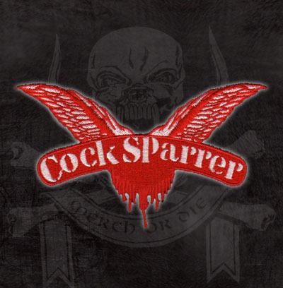 Cock Sparrer- Wings Embroidered Patch