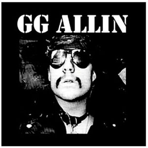 GG Allin- Face cloth patch (cp191)
